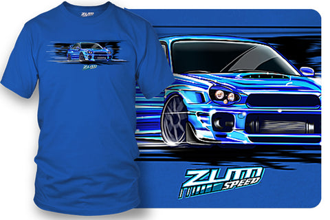 Image of Subaru WRX t-shirt - Zum Speed