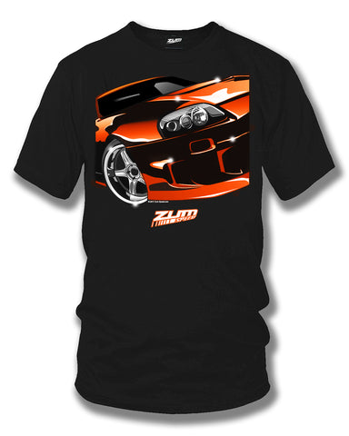 Image of Toyota Supra t shirt - Zum Speed