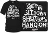 Get In Sit Down Shut UP Shirt - Wicked Metal , Muscle car shirts,  - Zum Speed