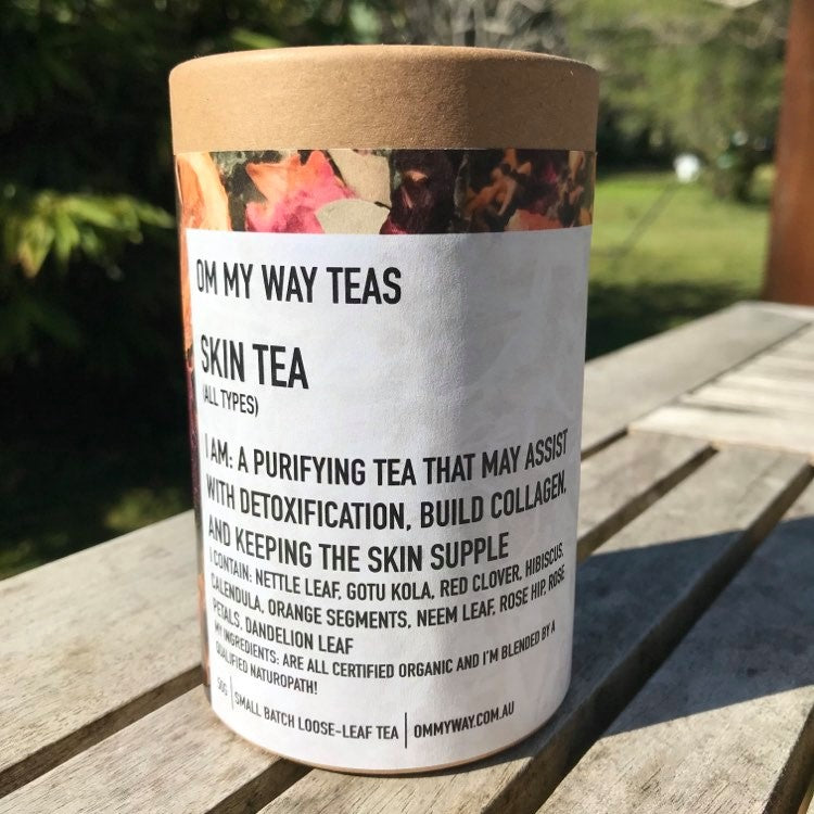 Om My Way Tea - Skin Tea