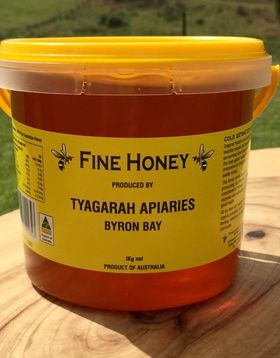 1kg Honey by Tyagarah Apiarie, Byron Bay