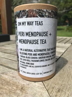 Om My Way Tea - Peri Menopause and Menopause Tea