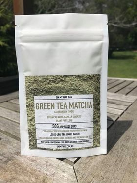Om My Way Tea - Green Tea Matcha