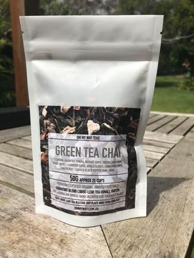 Om My Way Tea - Green Tea Chai