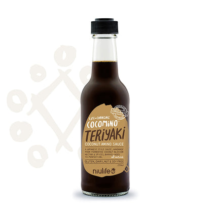 Niulife Organic Coconut Teriyaki Sauce 250ml