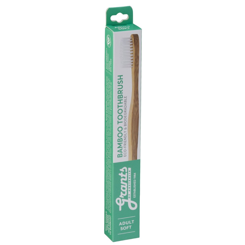 GRANTS ADULTS Bamboo Toothbrush - SOFT