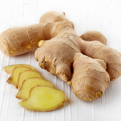 Organically grown Ginger per 100g