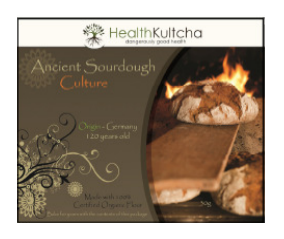 HEALTH KULCHA Ancient Sour Dough Culture  Organic  30g