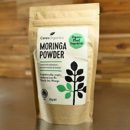 Ceres Organic Moringa Powder  120g