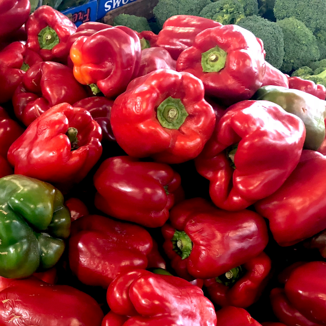 Red Capsicum 500g - organically grown and spray free capsiucm