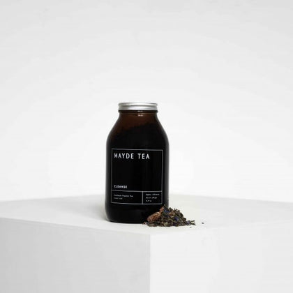 MAYDE TEA Cleanse  AMBER JARS - 120 SERVES