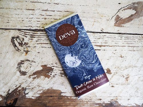 DEVA CACAO Dark Cacao with Nibs  85g
