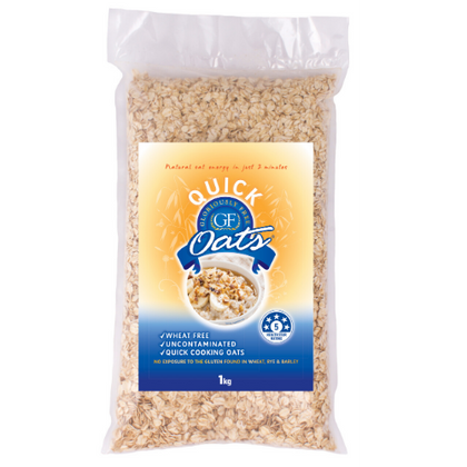 UNCONTAMINATED OATS Gloriously Free Uncontaminated Oats 1kg