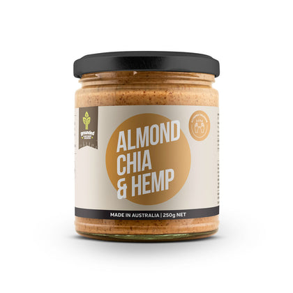 HEMP FOODS AUSTRALIA Almond Chia Hemp Spread  250g