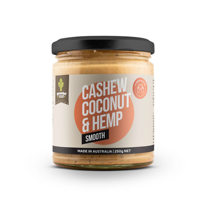 Hemp Foods Australia Cashew Coconut & Hemp Spread Smooth  250g
