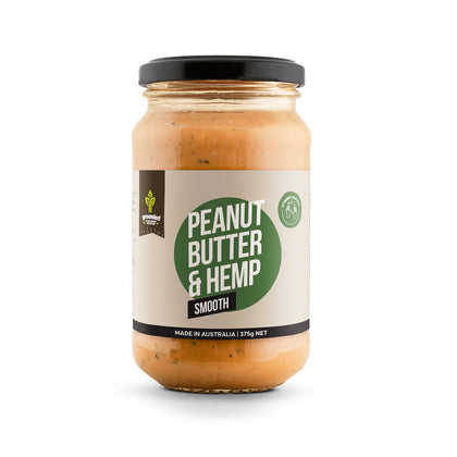Hemp Foods Australia Peanut & Hemp Spread Smooth  375g