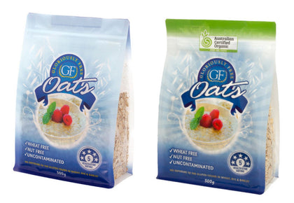 Gloriously Free  Uncontaminated Oats 500g Traditional or Organic