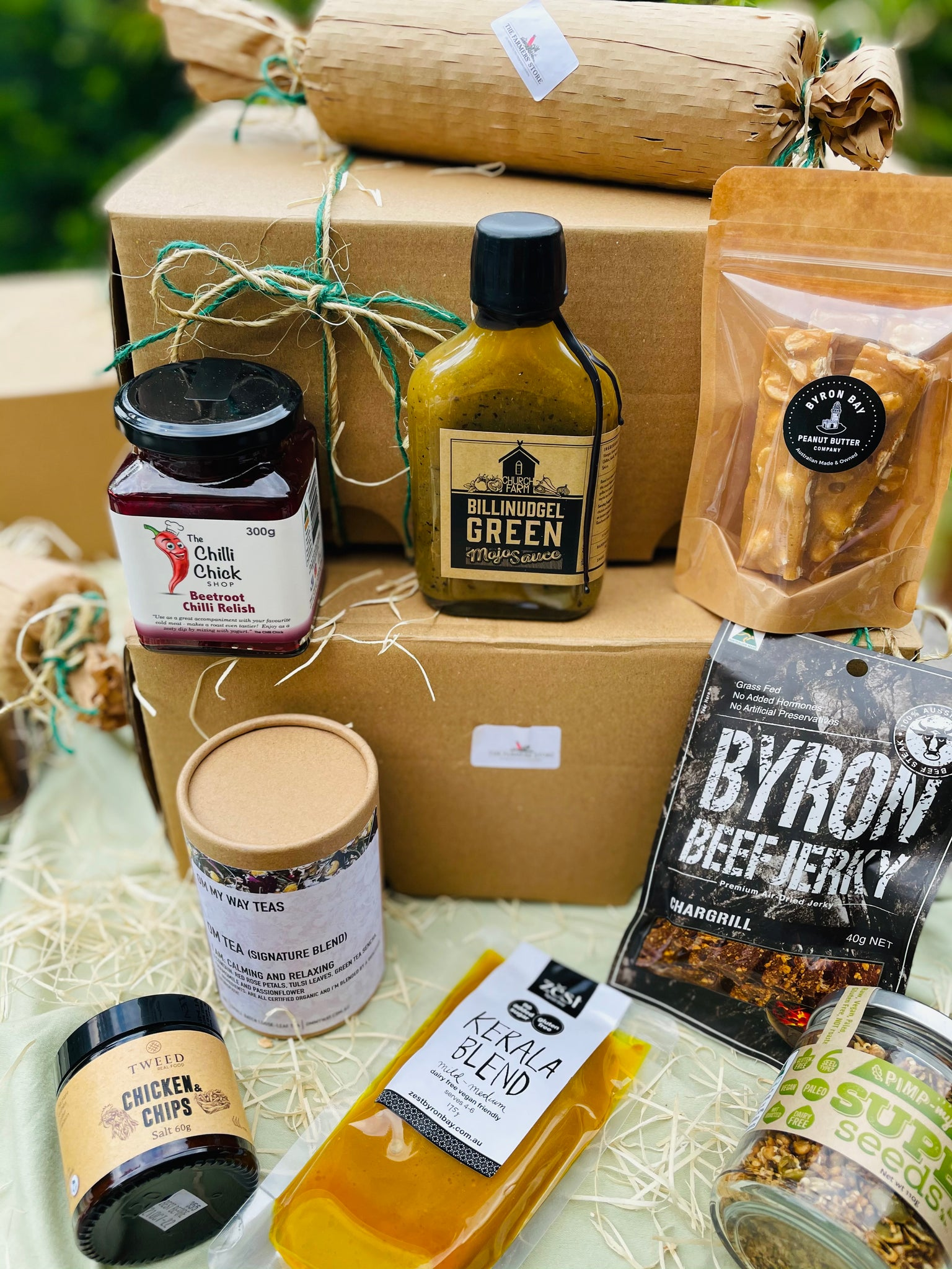 The Farmers' Store Gift Hampers from Byron Bay - limited edition