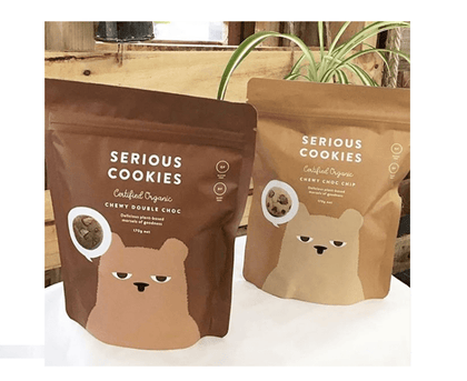 Serious Cookies - Double Choc Chewy  170g