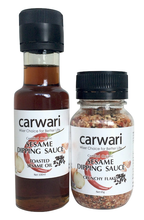 Carawri Sesame Dipping Sauce with Flakes & Oil   65g