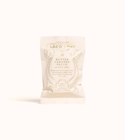 LOCO LOVE Butter Caramel Pecan with Superfeast Jing Herbs  2x30g