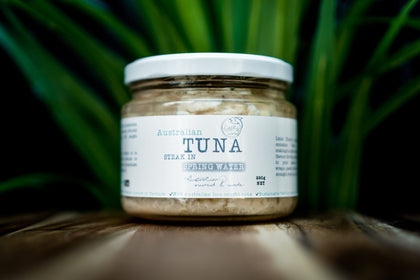 Australian Tuna Steak in Springwater - Australian Wild Caught Tuna from Little Tuna