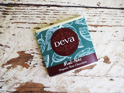 DEVA CACAO Mint with Nibs  35g