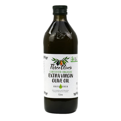 CHEF'S CHOICE Three Olives Organic Extra Virgin Olive Oil  1L