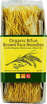 Nutritionist Choice Organic Bifun Brown Rice Noodles