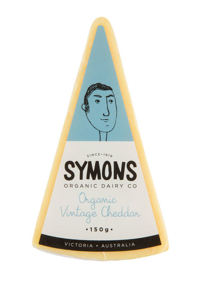 Organic  Vintage Cheddar Cheese - Symons 150g
