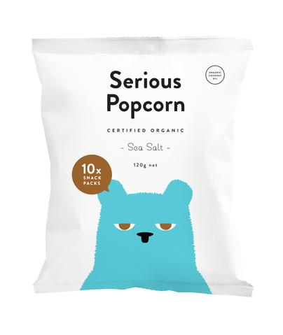 Serious Popcorn - Sea Salt Multi Pack 10 x 12g