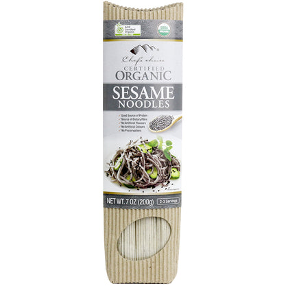 CHEF'S CHOICE Organic Sesame Stick Noodle  200g