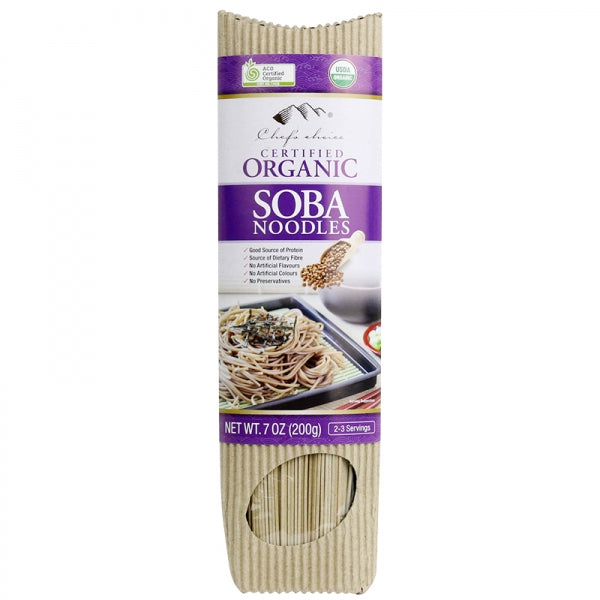 Chef's Choice Organic Soba Stick Noodle  200g