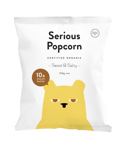 Serious Popcorn - Sweet & Salty Multi Pack 10 x 12g