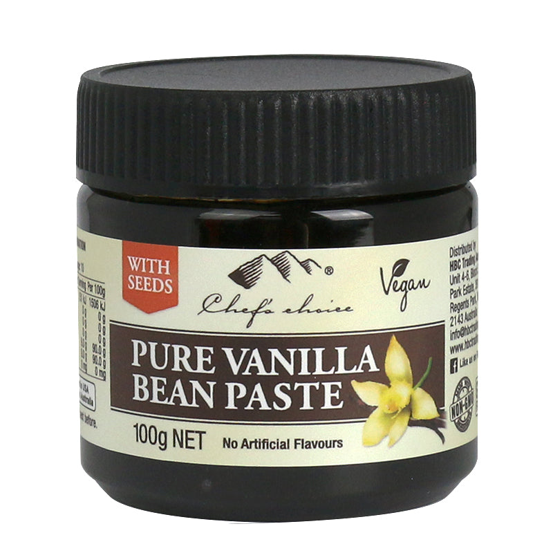 Chef's Choice Pure Vanilla Bean Paste with Seeds  100ml