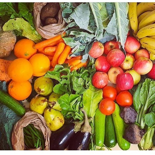 Large Veggie Box - Families ( Organically Grown Produce)