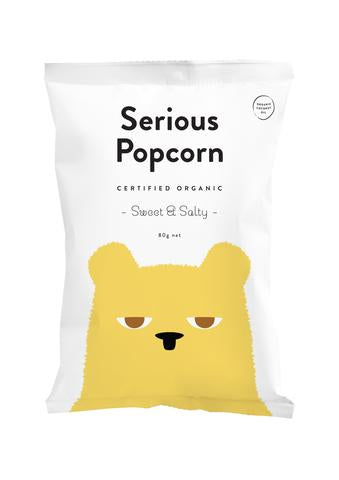 Serious Popcorn - Sweet & Salty 80g