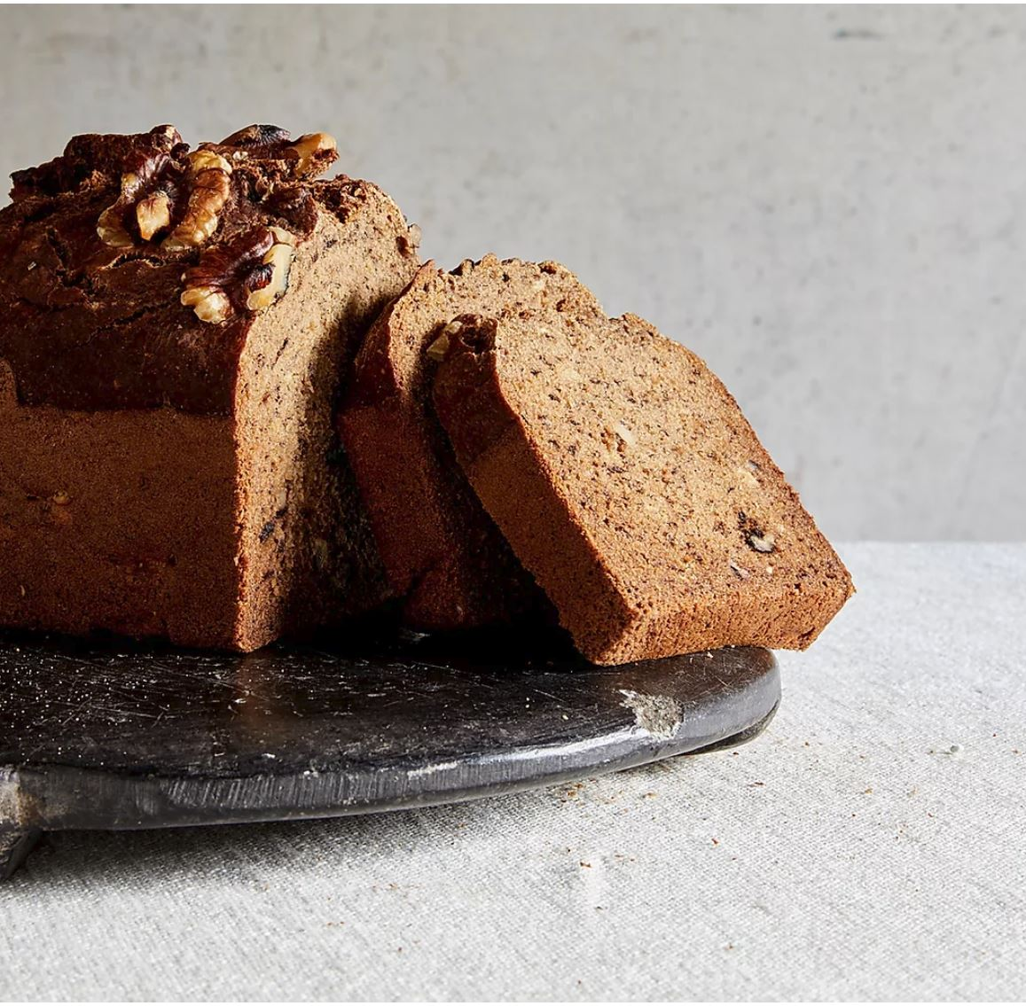 Almond Road -  Banana & Walnut Bread (GF) (Vegan)