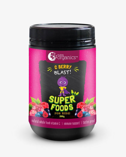 NUTRA ORGANICS Superfoods For Kidz C Berry Blast Powder  100g