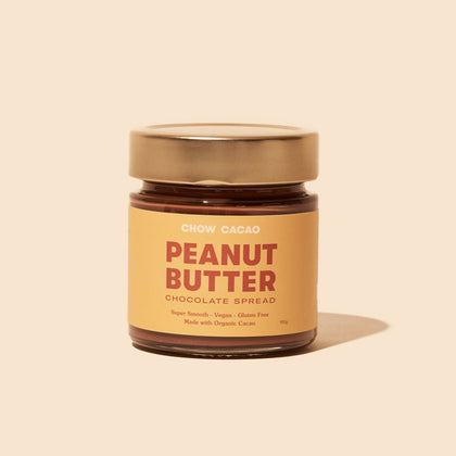 Chow Cacao Peanut Butter Chocolate Spread 190G