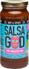 SALSA GOD Fire Roasted Red - Hot & Spicy  454g/6