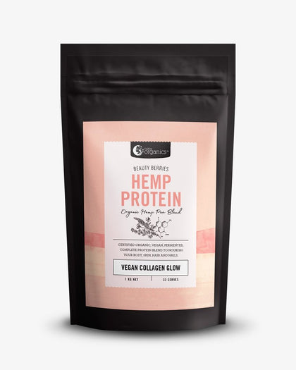 NUTRA ORGANICS Hemp Protein Beauty Berries (Vegan Collagen Glow)  1KG