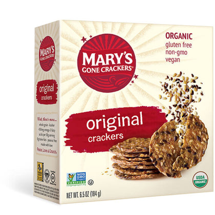 MARY'S GONE CRACKERS Original Crackers  184g