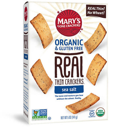 MARY'S GONE CRACKERS Real Thins - Sea Salt  141g