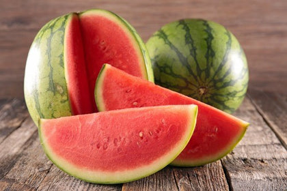 Watermelons - certified Organic Seedless Watermelon - Minilee Watermelon