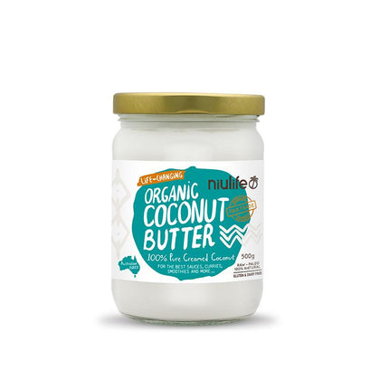 NIULIFE COCONUT PRODUCTS Niulife Organic Creamed Coconut  500g