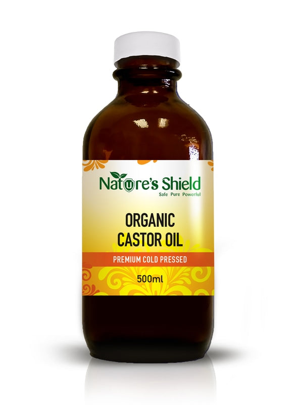 NATURE'S SHIELD Organic Castor Oil 200ml