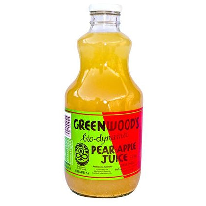 Greenwoods Organic Pear & Apple Juice1L