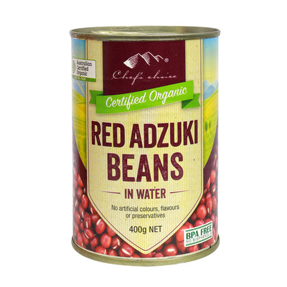 CHEF'S CHOICE Organic Adzuki Beans (Can)