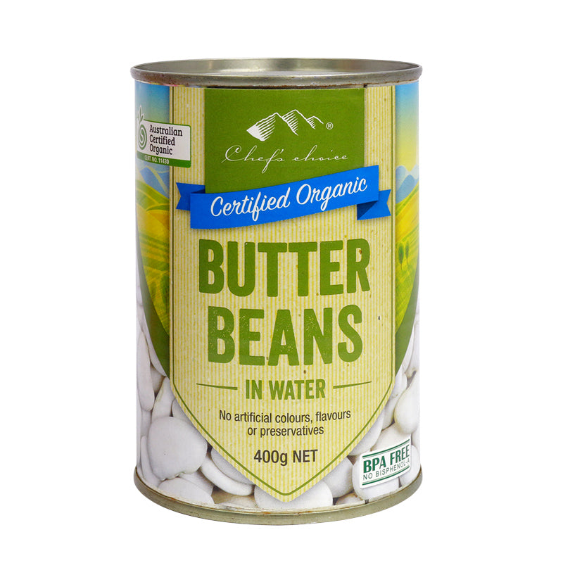Chef's Choice Organic Butter Beans (Can)